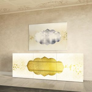 Layla sideboard and mirror