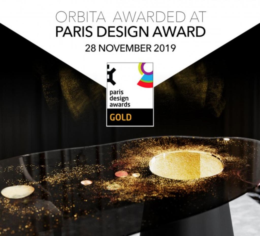 ORBITA AWARDED WITH GOLD AT PRESTIGIOUS PARIS DESIGN AWARD 2019
