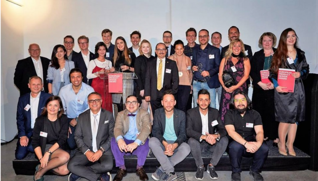 UNICA WITHDRAWS IN BRUXELLES THE EUROPEAN PRODUCT DESIGN AWARD